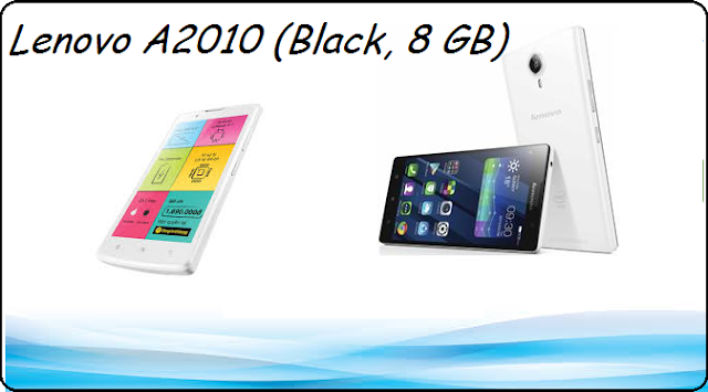 Lenovo A2010 (Black, 8 GB) price and specification
