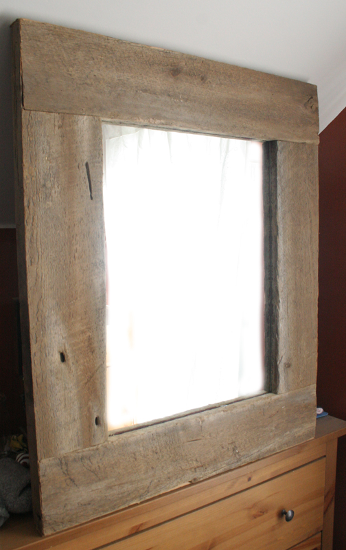 The Great Mclellan Adventure Barn Board Mirror