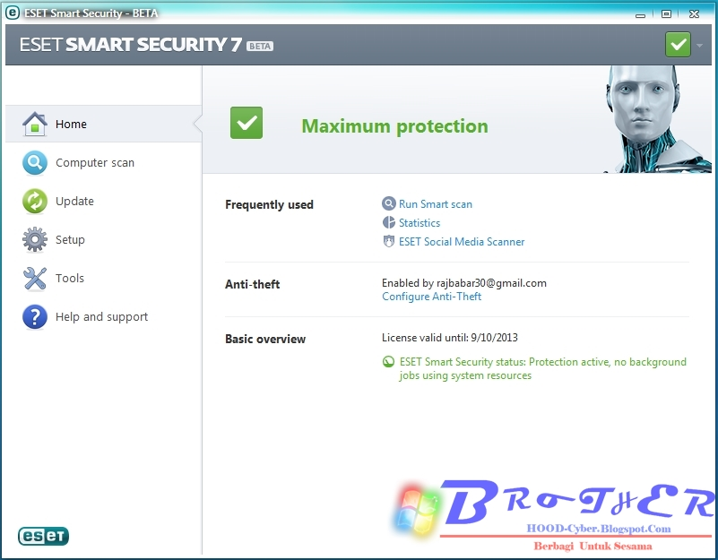 ESET Smart Security 7 Beta Full License