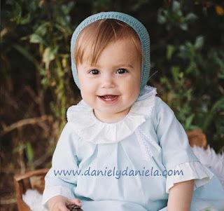 Vestido de niña de Fina Ejerique en Daniel y Daniela