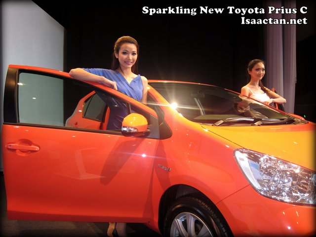 The all new Toyota Prius C
