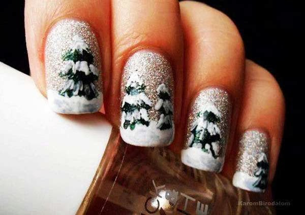 The Astounding Holiday nail design 2015 Digital Photography