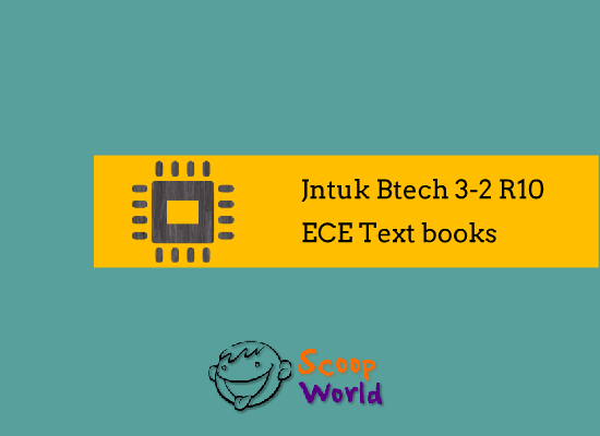 jntuk btech ece study text books