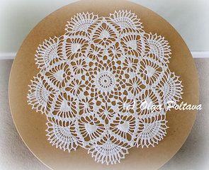 Spring Day Doily Pattern, $3.99