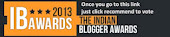 Nominated For The Indian Blogger Awards 2013