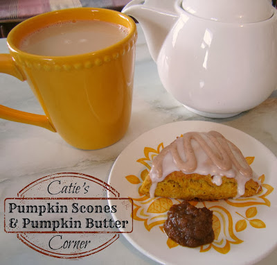 Pumpkin Scones and Pumpkin Butter Recipe