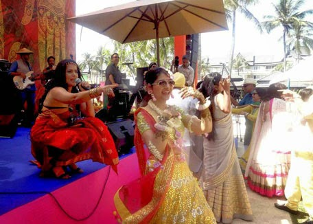 Singer Sona Mohapatra & Ram Sampath perform in Phuket