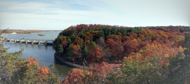 starved rock fall colors