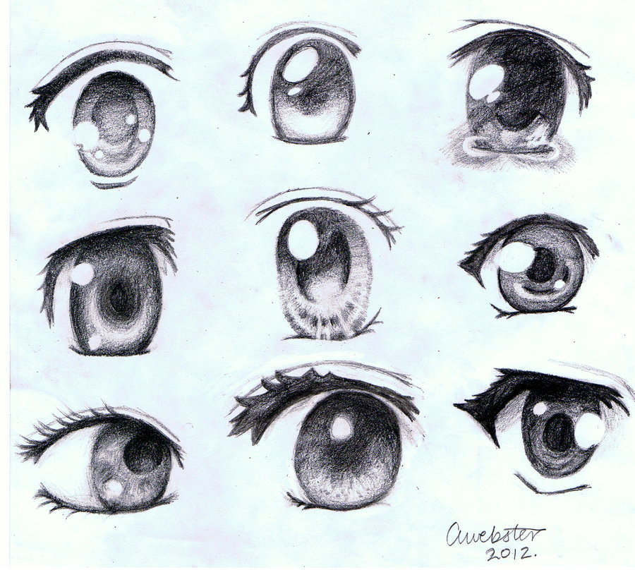 Anime Characters Eyes : Animelovers