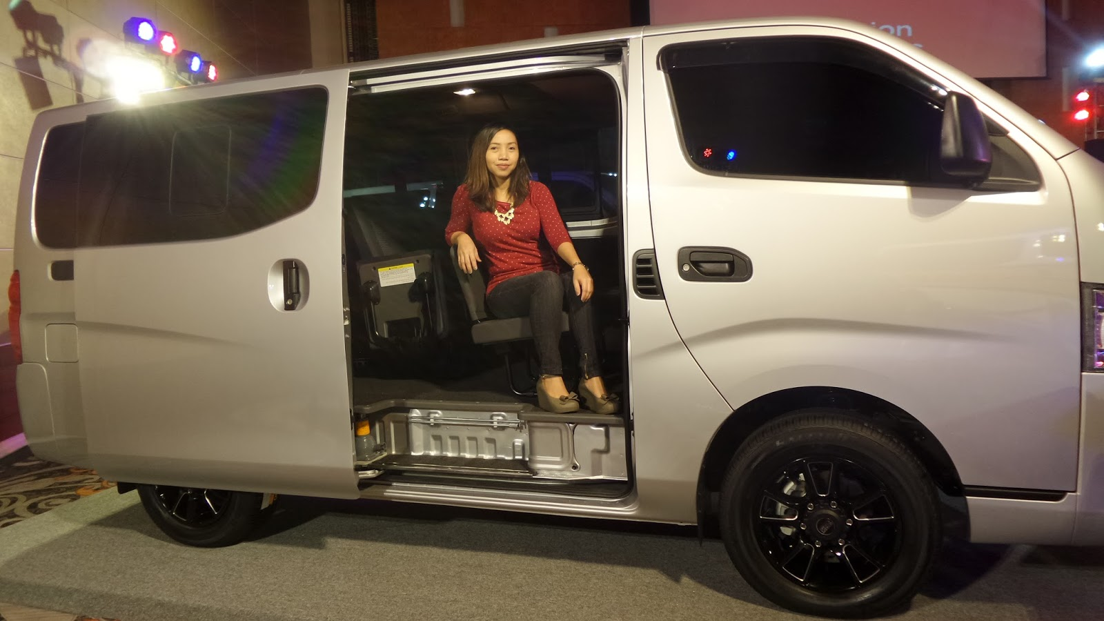 I could definitely see myself my family relatives and friends enjoying the comfort nissan nv350 urvan brings