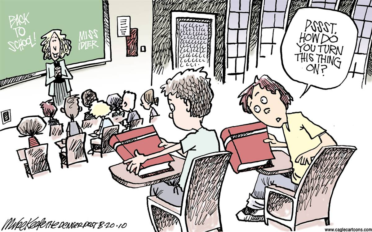 13 Back to School Cartoon Funnies for the Millenial Tech ...