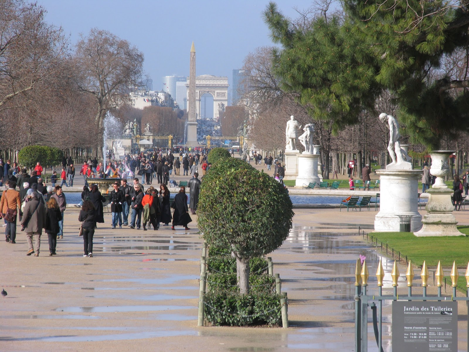 World visits jardin des tuileries wonderful garden for Le jardin de france