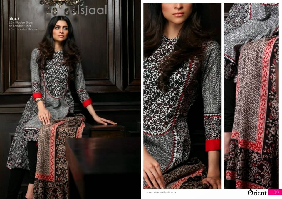 OrientTextilesKashmiriKhaddarCollection2013Vol2 wwwfashionhuntworldblogspotcom 007 - Orient Textiles Kashmiri  Fall/Winter Collection 2013 vol 2