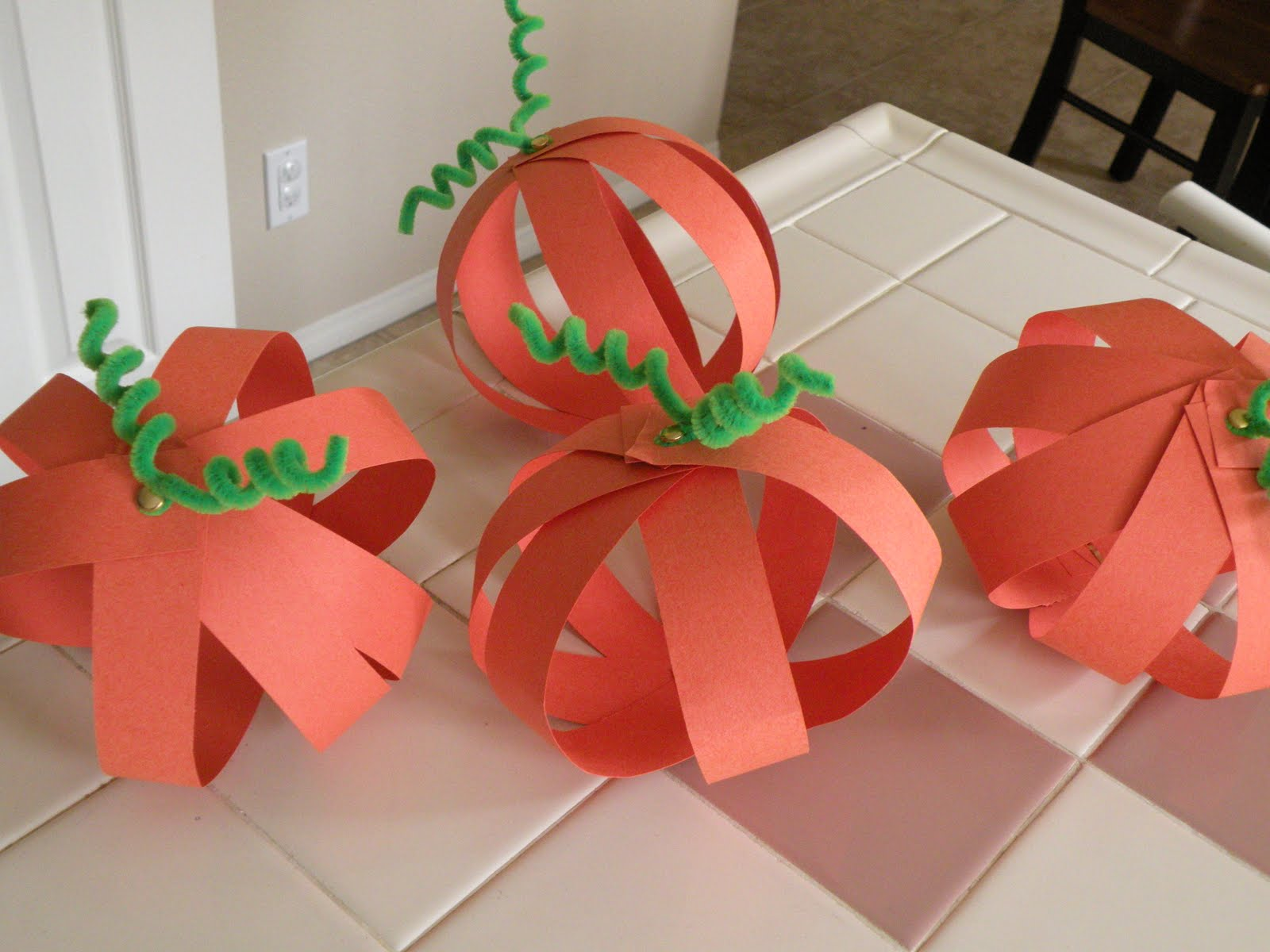 Another Super Fast And Easy Craft Is A Tissue Paper Pumpkin
