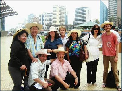 2011 En el Encuentro Internacional del Foro Aires de Libertad en Lima.
