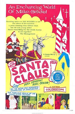 Santa Claus 1959 Poster