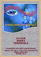 """Concurso """"No me olvides"""" Red de escritores de Coquimbo"""