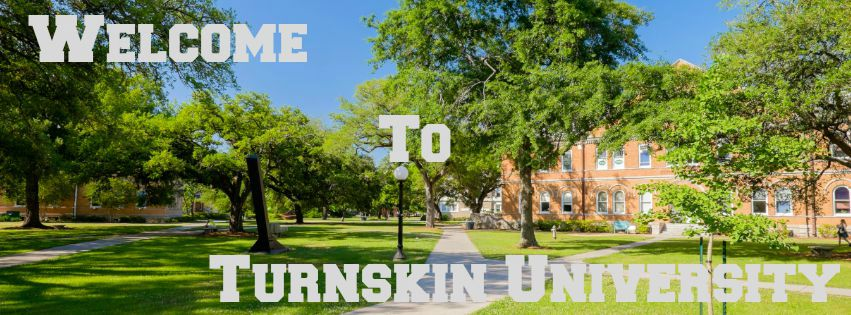 Welcome to Turnskin University