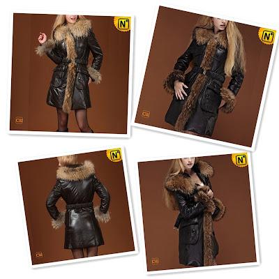 Women Fur Trimmed Coat