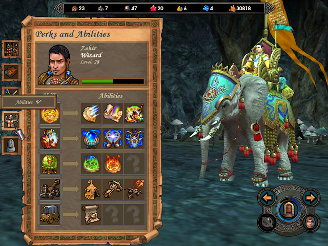 Heroes of Might and Magic 5 - Hero Abilities Screenshot