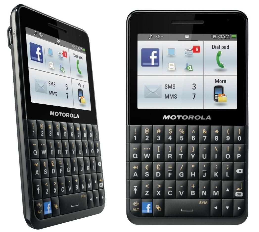 Motorola Motokey Social or Motorola EX225 Touch Handy Mobile