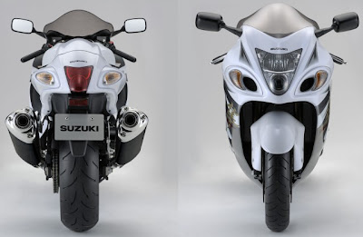 Suzuki Hayabusa 2013 recebe ABS