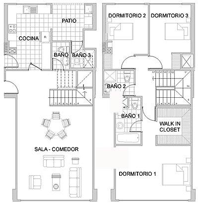 Tematicas primeros auxilios planos de evacuacion for Planos de departamentos de una habitacion