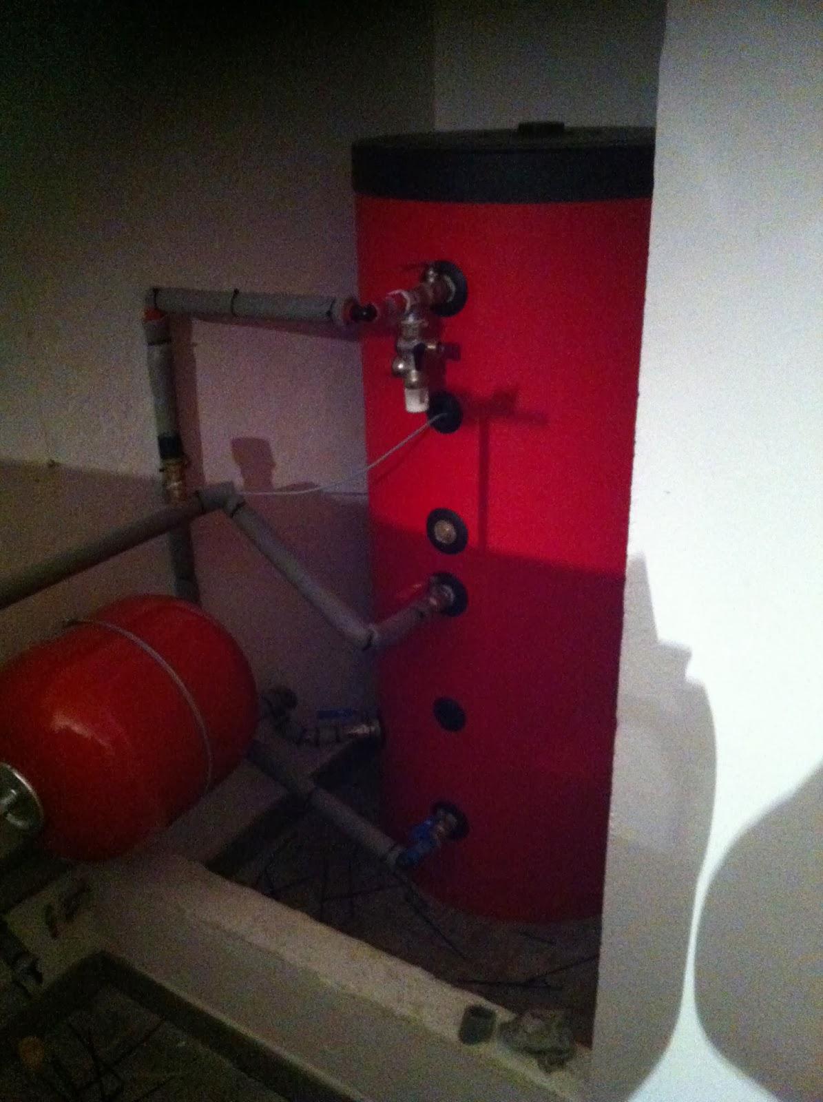 Caldera de pellet autom tica en suelo radiante burgos - Calderas para suelo radiante ...
