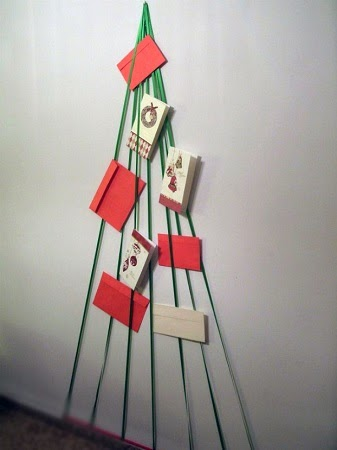 Arboles de navidad con lana reutilizada ii - Arbol de navidad sencillo ...