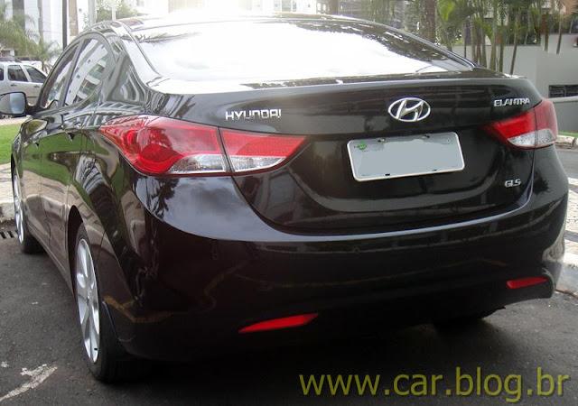 Hyundai Elantra 2012 GLS 1.8L Automático - preto