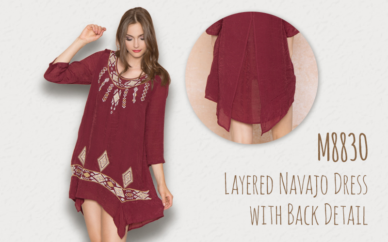 http://www.monoreno.com/layered-navajo-dress-with-back-detail-65-rayon-35-polyester-woven-dress.html