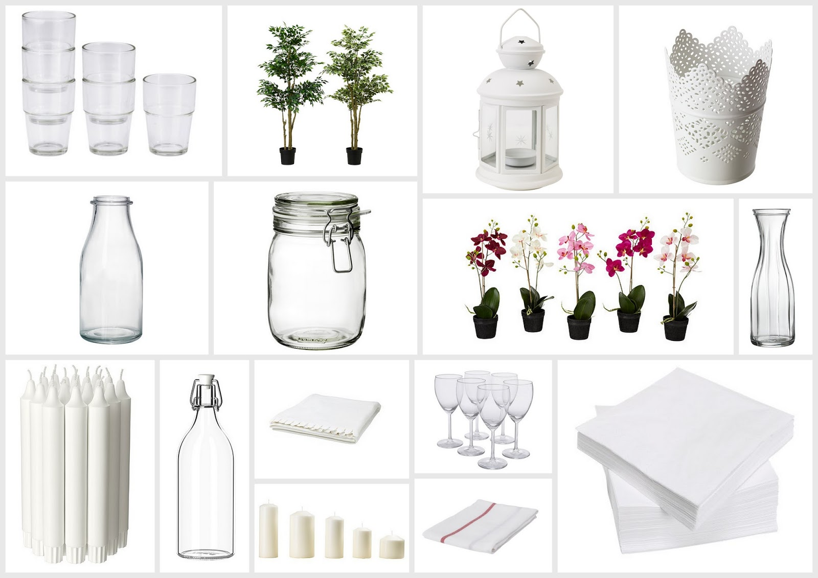 Wedding blog uk wedding ideas before the big day favours for Decoration ikea