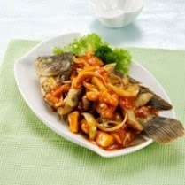 Resep Ikan Gurame Masak Asam Pedas