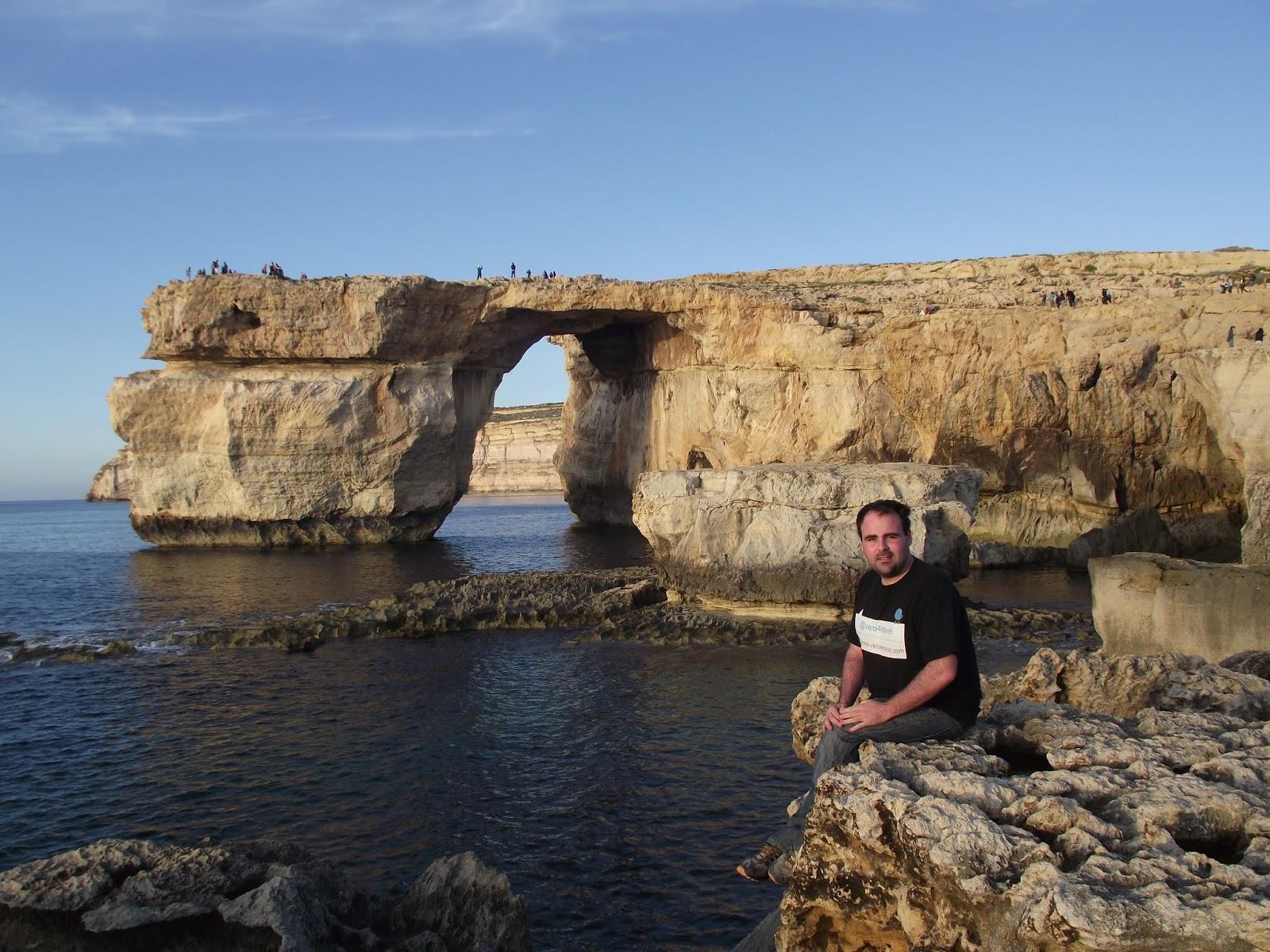 Ventana Azul, Malta, Isla de Gozo