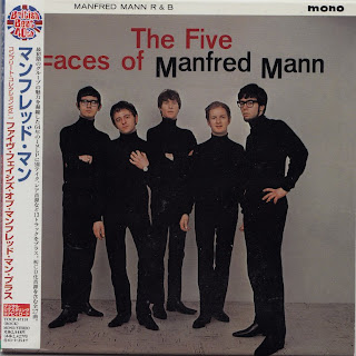 MANFRED MANN - FIVE FACES OF MANFRED MANN (HIS MASTER\'S VOICE 1964) Jap mastering cardboard sleeve + 13 Bonus