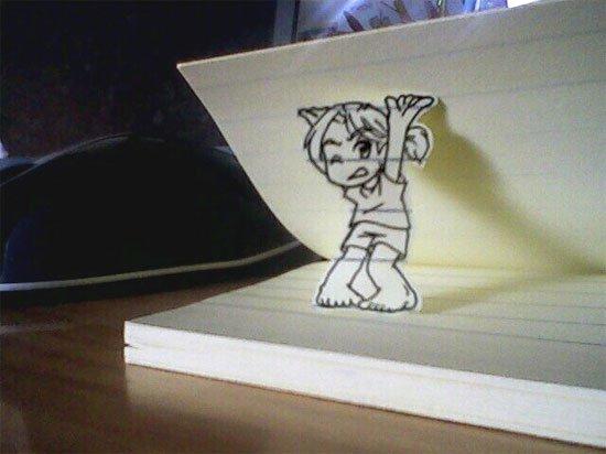 Figuras Anime en papel. 250060_10150262343154819_213182229818_7274051_5472537_n