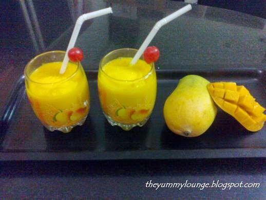 Easy Mango Milk Shake Recipe