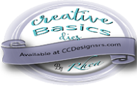 Creative Basics Dies by Rhea