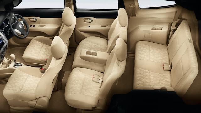 Nissan Grand Livina, Mobil yang nyaman untuk keluarga interior