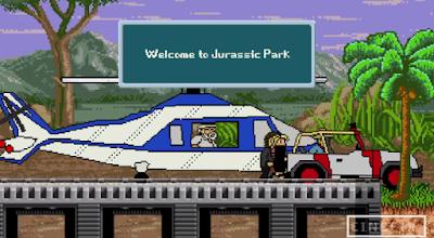jurassic park 8-bit