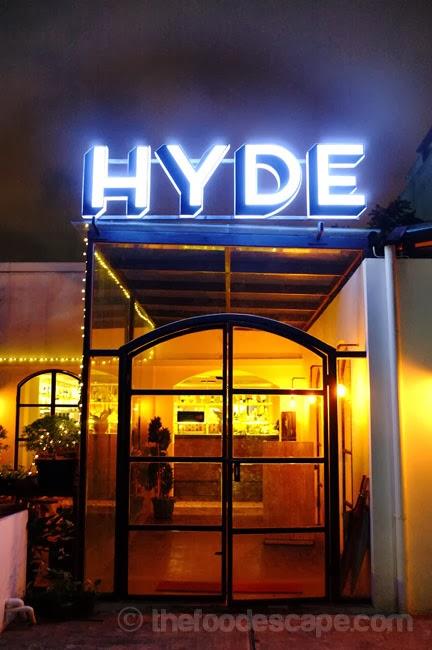 Hyde Kemang Food Escape Indonesian Food Blog