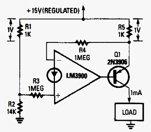 Constant Current Regulator Circuit Diagram