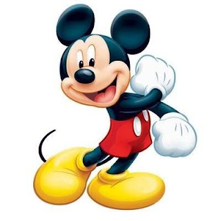 Mickey mouse to print