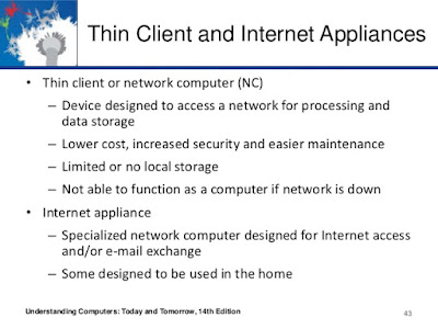 Thin Clients and Internet Appliances