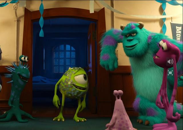 Disney pixar s monsters university teaser trailer pony