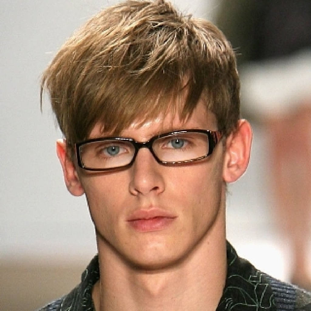 Short hairstyles with glasses - Hairstyles For Men With Long Hair On Top