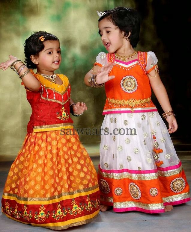 Cute Kids in Latest Lehenga
