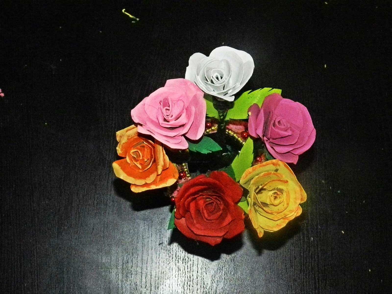 Creative diy crafts tissue holder crafts recycled diy rose flowers made with tissue paper rolls toilet tissue rolls mightylinksfo Choice Image