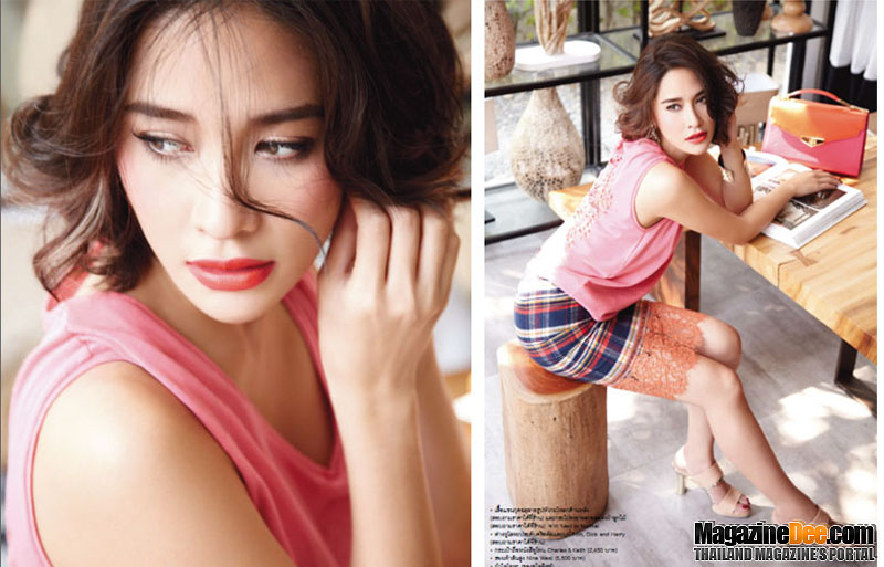 Thai Actress Ploy Chermarn in Lemonade Magazine by Yellowmenace