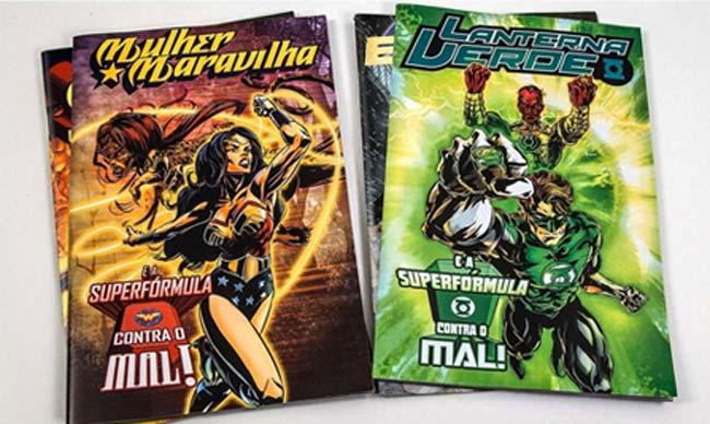 Superfórmula para combatir el cáncer, superheroes, cómics